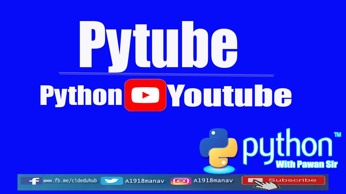 PyTube tagged Tweets and Downloader | Twipu