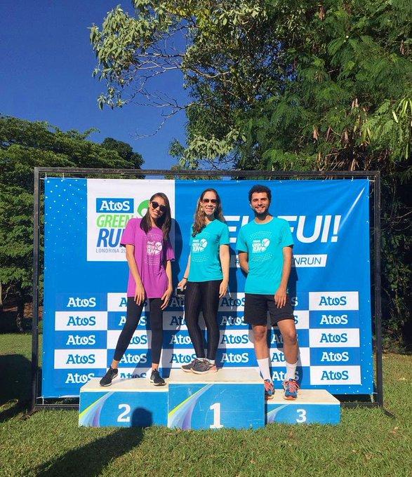 A equipe Atos não só prestigiou como também correu junto ! #AtosGreenRun2...