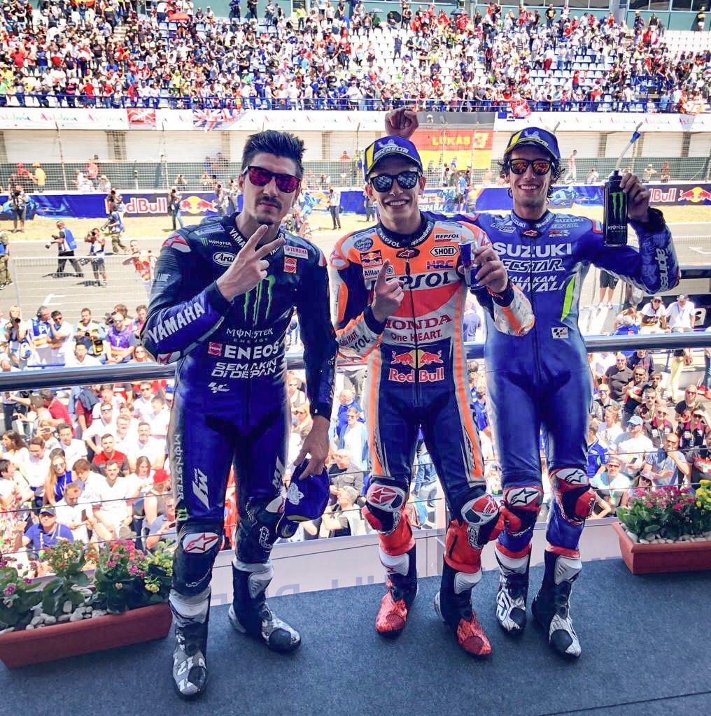 Podium - Hasil race MotoGP Jerez 2019