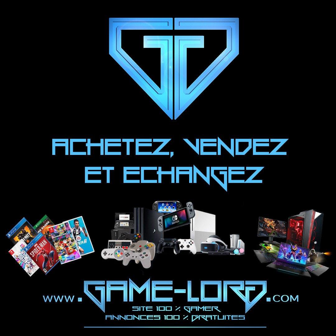 Achetez, vendez et échangez sur notre site, 100% gaming ! http://bit.ly/gloff  #gamelordofficiel #gaming #gaminglife #GamingPosts #gamingsetup #gamingpc #gamingcommunity #gamingislife #gamingaddict #GamingPictures #gamingforlife #gamingfolk #retrogaming #jeuxvideo #geekpic.twitter.com/peC5ND9PaU