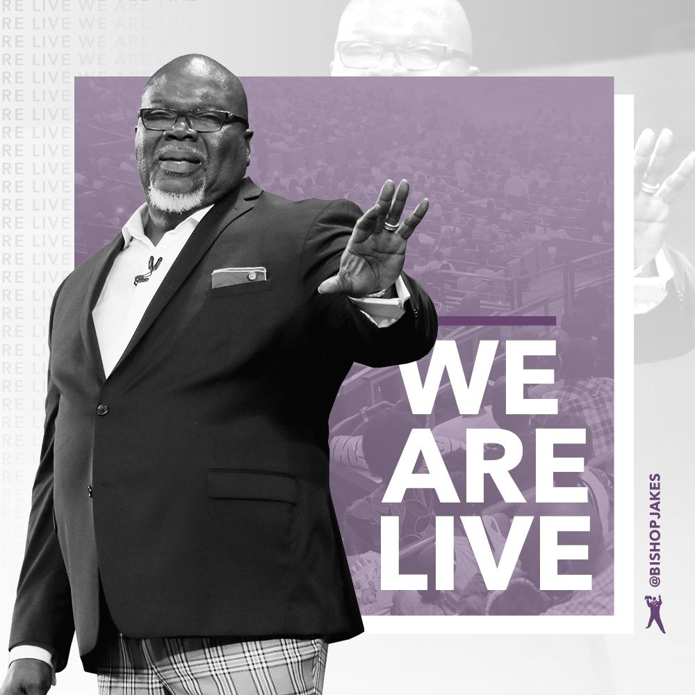 T D Jakes On Twitter We Are Live At The Potter S House Of Dallas