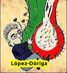 Para contaminación la del PRI y todos su medios chayoteros.#LopezDoriga