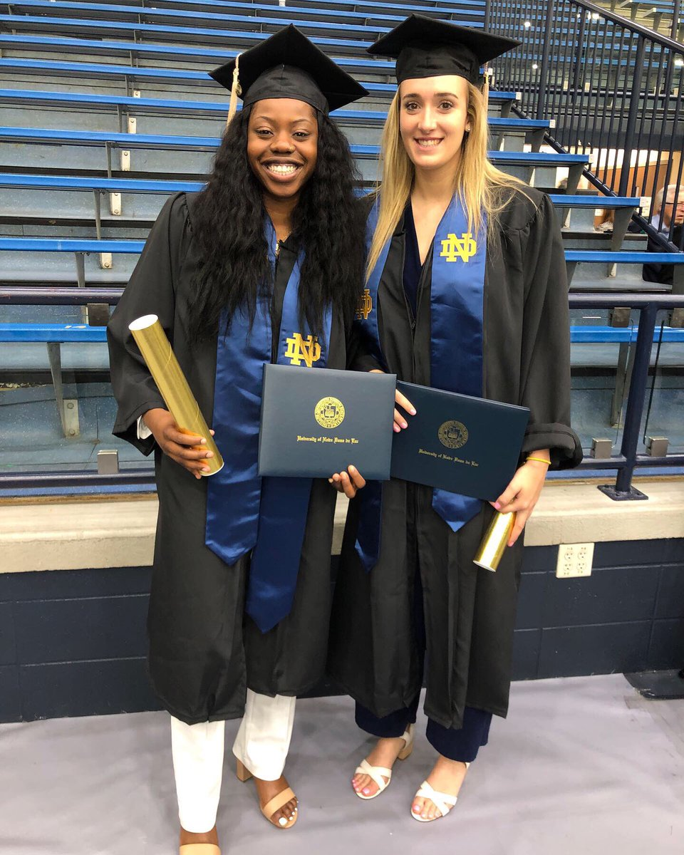 Grateful to have had you by my side for 4 years. Been through everything together, my sister 4L! Can't wait to see what you do in the future ❤️❤️ @mmabrey1
