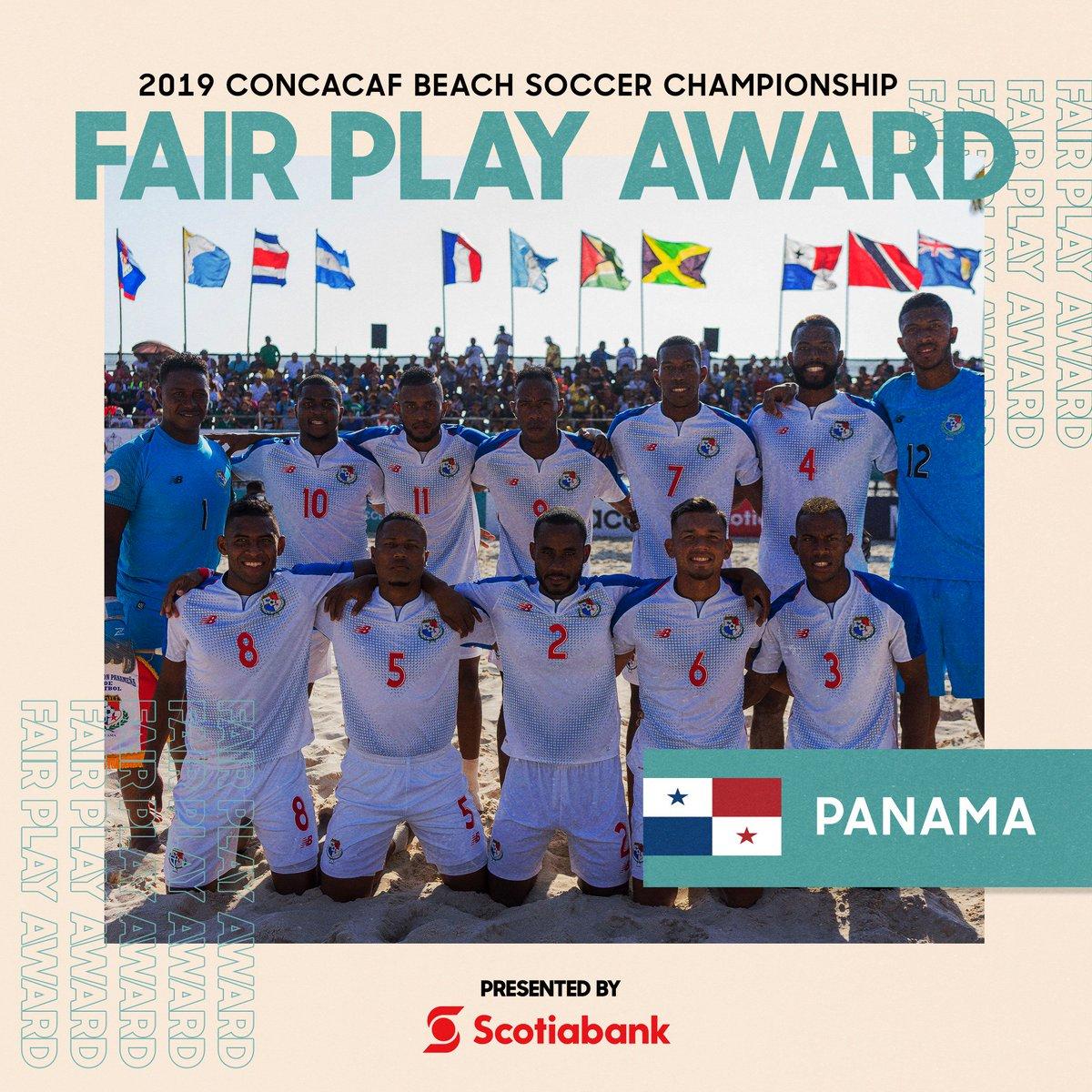 .@fepafut se lleva el premio Fair Play #CBSC presentado por @ScotiabankFC