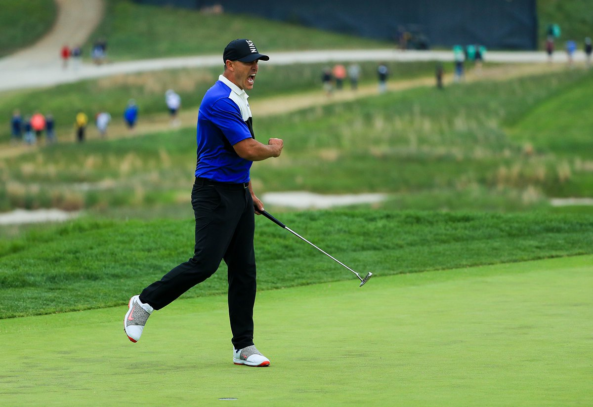 He earned it, plain & simple.   @BKoepka is now the first back-to-back U.S. Open and back-to-back #PGAChamp winner in the history of the game. http://go.teamusa.org/KoepkaPGA
