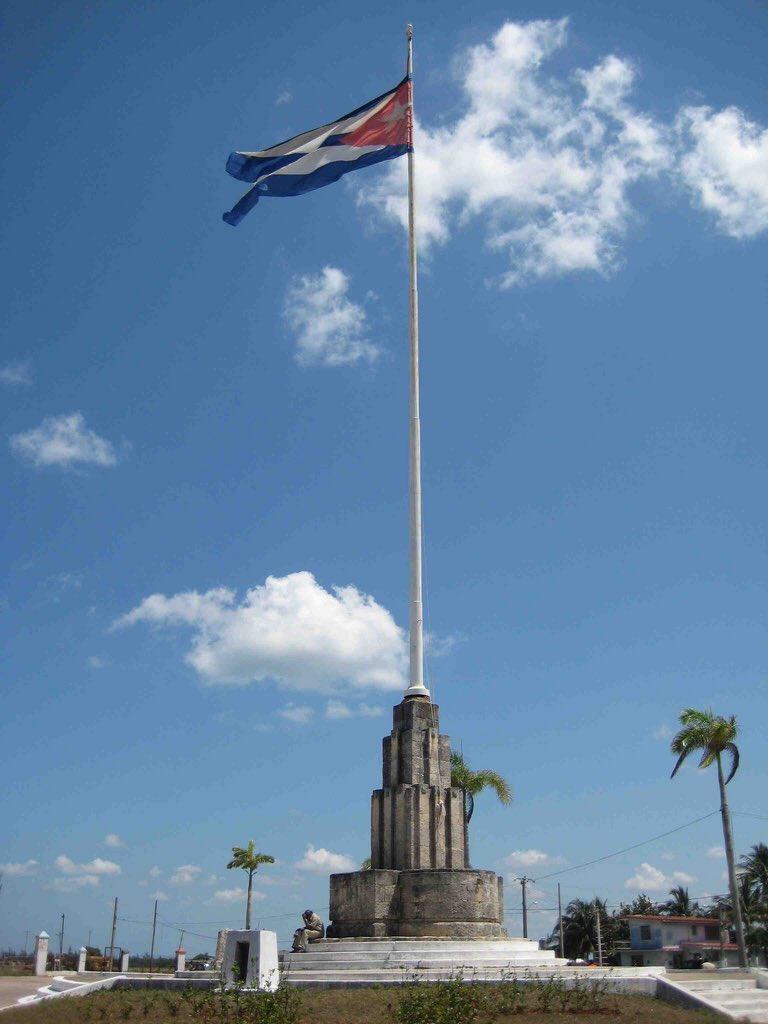 Mi ciudad es conocida como la ciudad de las primicias. Un día como hoy, 19 de Mayo pero de 1850, se izó por primera vez la bandera de todos los cubanos. Gracias a todos por los aplausos 👏. Fin del matutino ✌️😊. #Cardenas