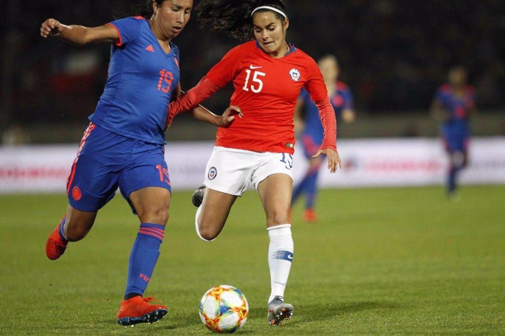 Selección Colombia Femenina empató su segundo partido de preparación frente a @LaRoja. https://bit.ly/2YIaBm5