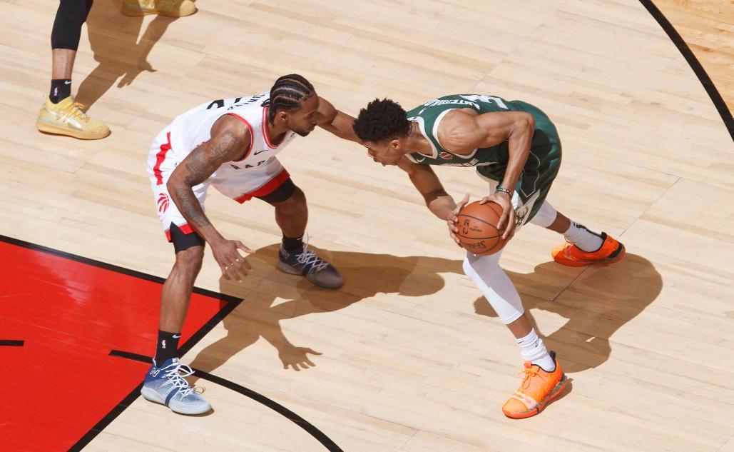 2⃣ ✖️ 3⃣4⃣ #WeTheNorth x #FearTheDeer #NBAPlayoffs on @NBAonTNT