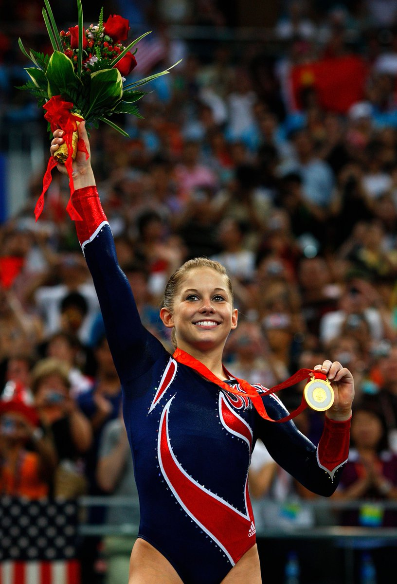 Legends at #Beijing2008 and proud representatives of #TeamUSA, forever.   Join us in wishing HUGE congratulations to @ShawnJohnson & @JasonLezak on their inductions into their respectful sports' international halls of fame this weekend.  📰: http://go.teamusa.org/2VONOIl