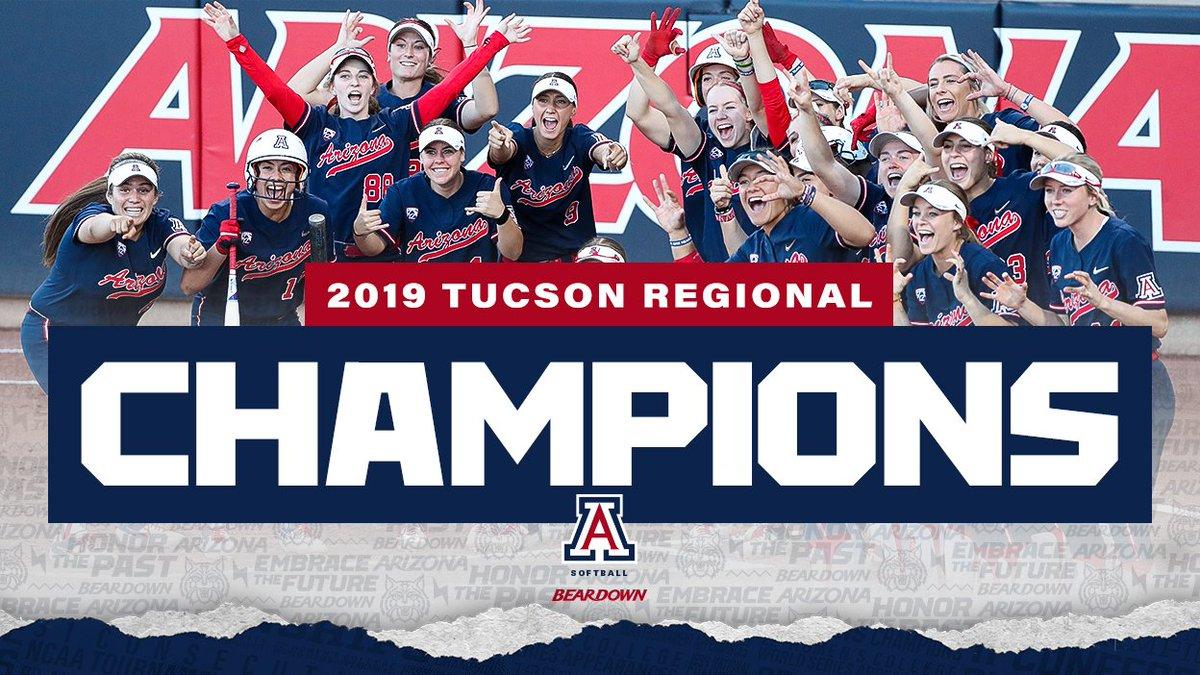 FINAL » Arizona 12, Auburn 3  TUCSON REGIONAL CHAMPS! The Cats are on to Supers!  #BearDown || #RaiseTheA<br>http://pic.twitter.com/rGnVDKYVx6
