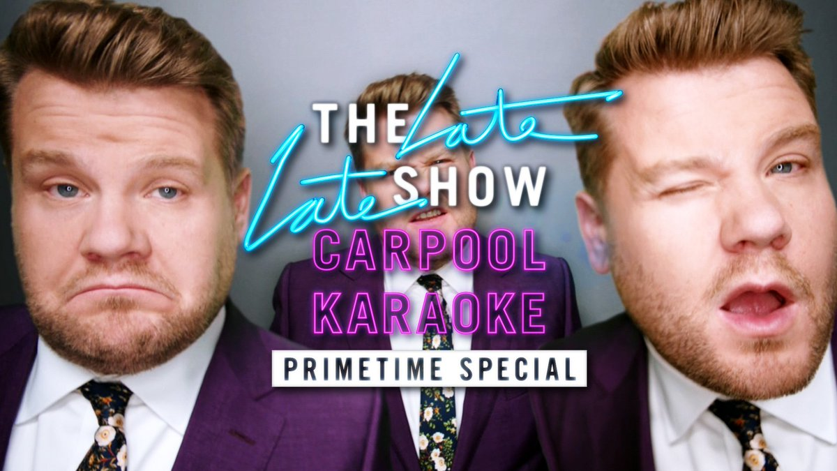 Late Late Show goes PRIMETIME tonight at 10 on CBS's photo on #CarpoolKaraoke
