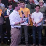 Image for the Tweet beginning: WATCH: Buttigieg gives 11-year-old advice