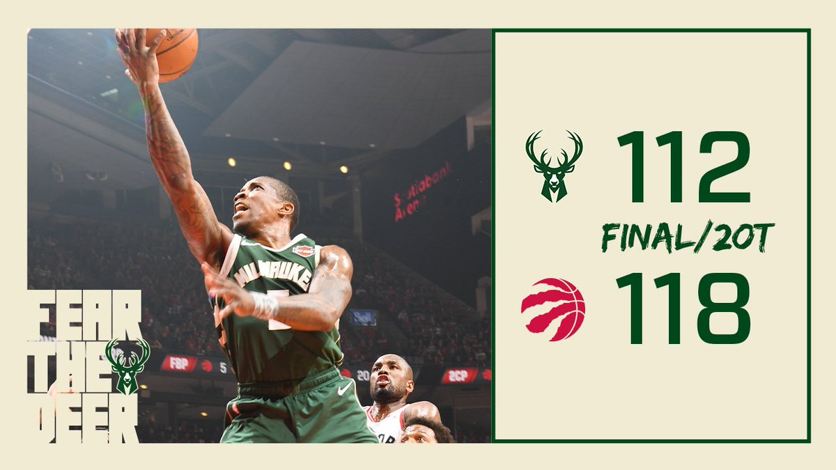 See you Tuesday. #FearTheDeer