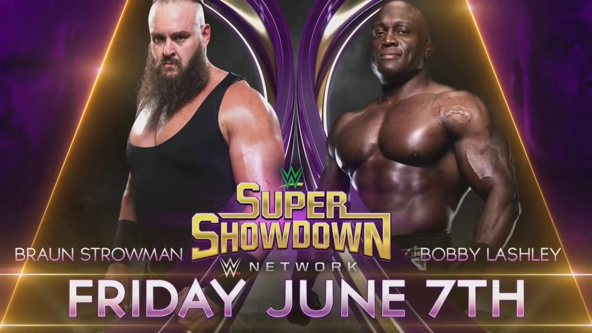 Braun Strowman To Face Bobby Lashley At WWE Super ShowDown