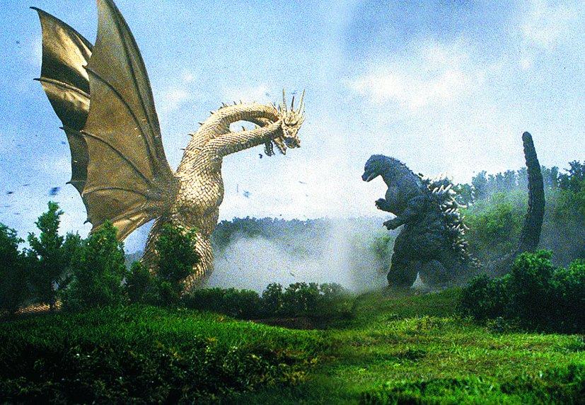 「お前だけには絶対負けない!」  『ゴジラVSキングギドラ』が新作公開日に放送決定! BS朝日 2019年5月31日(金)19時OA  新作 #キングオブモンスターズ でも、ゴジラとキングギドラが大激突。 怪獣王最大のライバルの活躍を見逃すな!  #ゴジラ #GodzillaMovie #5月31日公開