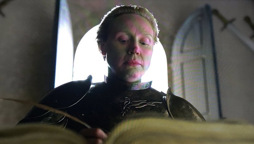 RT @coryiams: What Brienne was really writing #GameOfThrones #GameOfThronesFinale https://t.co/Lrq5AdEidL