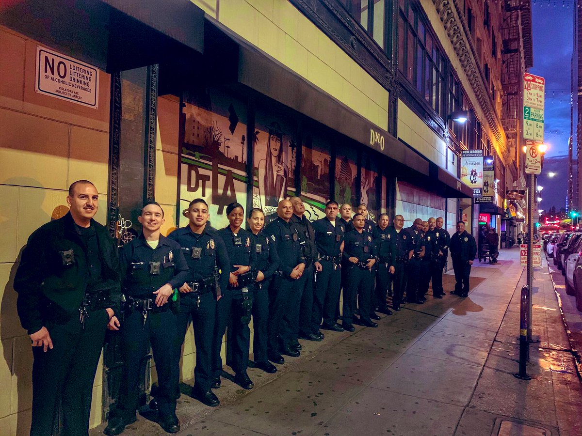 Even though #GameOfThrones watch has ended, ours has just begun. LAPD night watch officers are always ready to head into the long night.