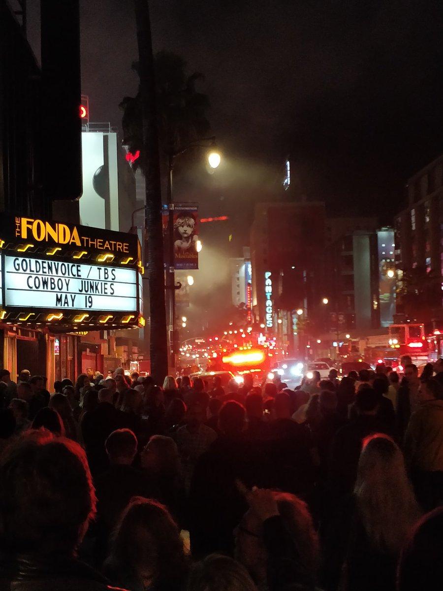 Marijuana grow operation catches fire next to Hollywood's Fonda Theatre