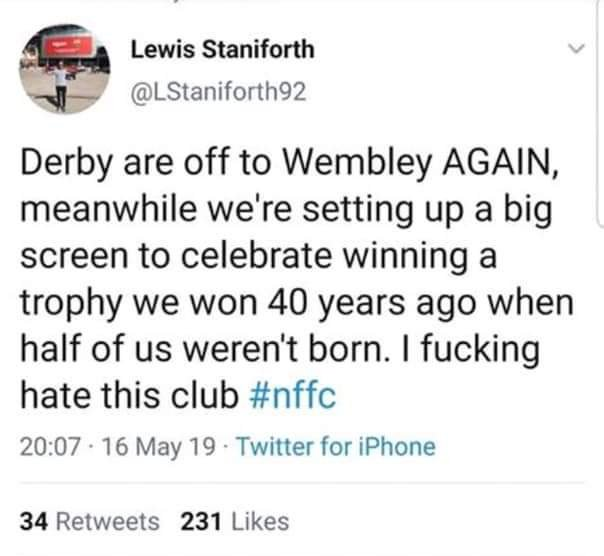 This has killed me #dcfc #nffc