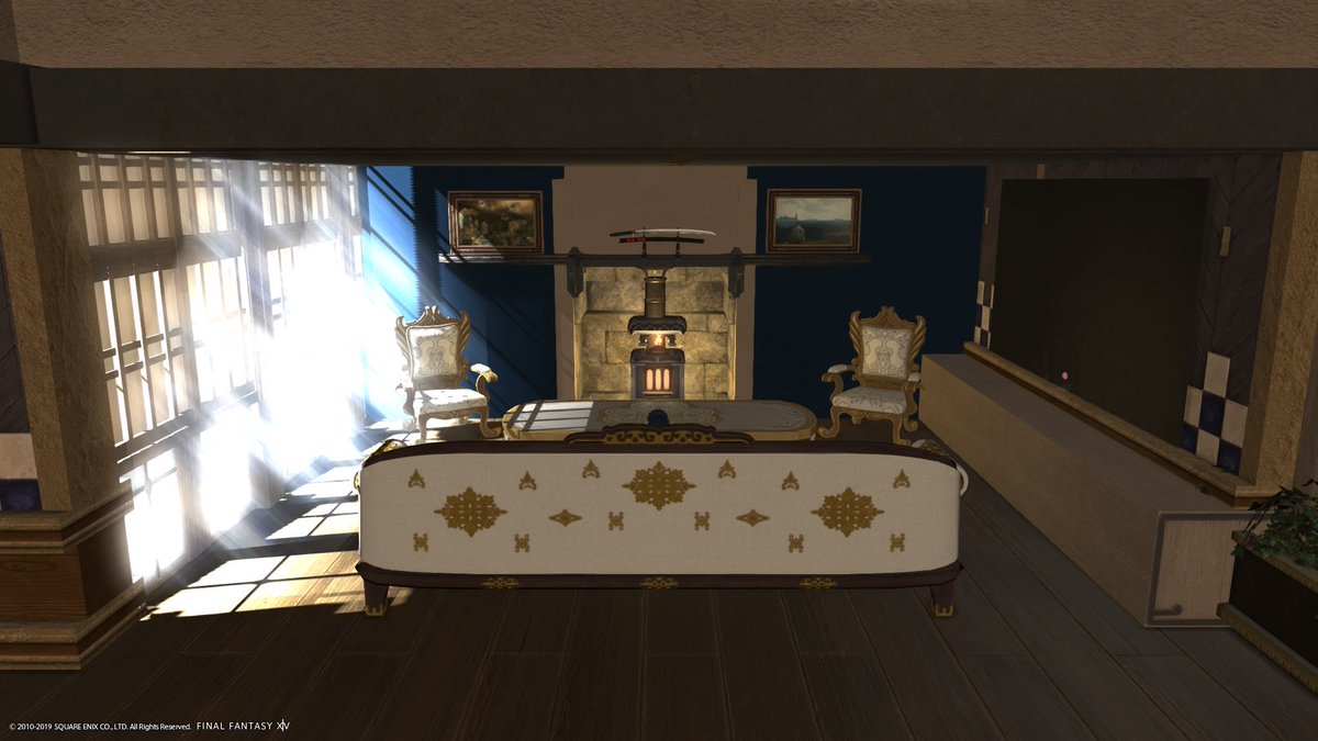 A cheap but lovely bath design I made ffxiv FFXIV HOUSING in