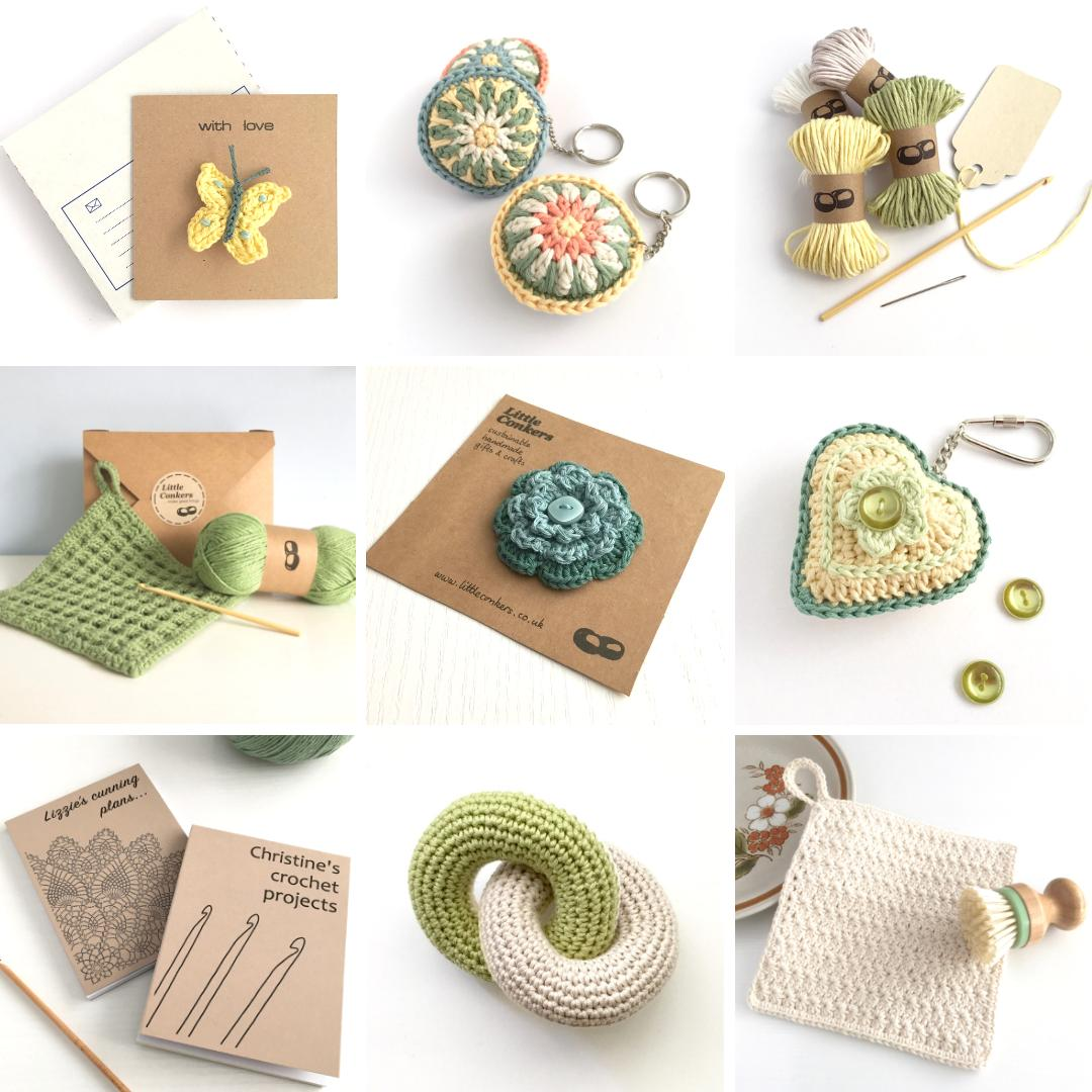 Find lots of #handmade #ecofriendly #giftideas in my Etsy shop.  http://www.littleconkers.etsy.com