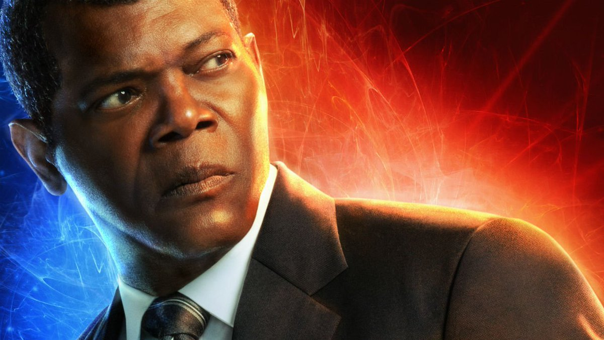 Heres how they turned Goose into a Flerken and made Nick Fury look 25 years younger.