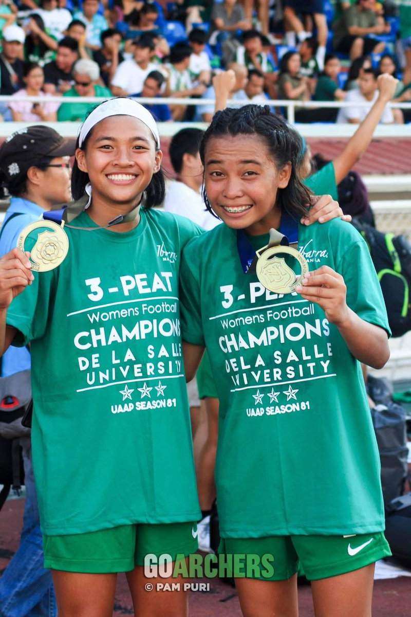 More photos from the UAAP womens football finals here m.facebook.com/pg/goarchers/p…