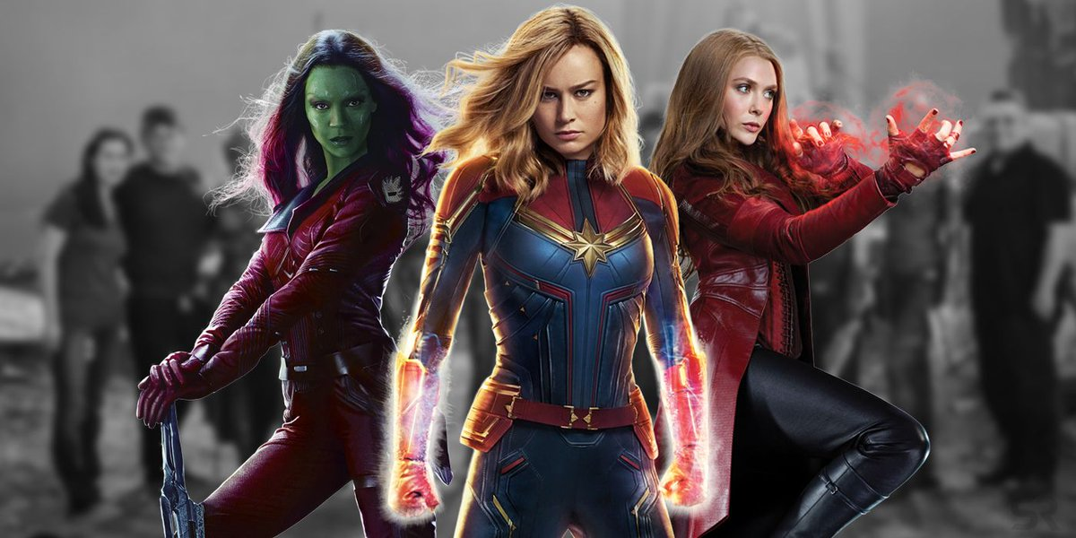 All of the female Avengers assemble in an #AvengersEndame behind-the-scenes image. buff.ly/2VMddCq