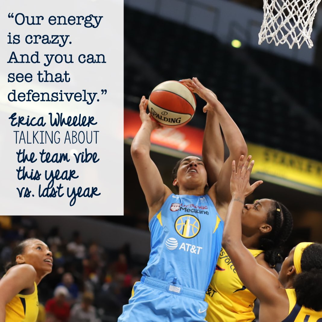 This is @EWeezy_For3eezy on the @indianafever's team vibe.   #indianafever #wnba #fever20 #allforlove