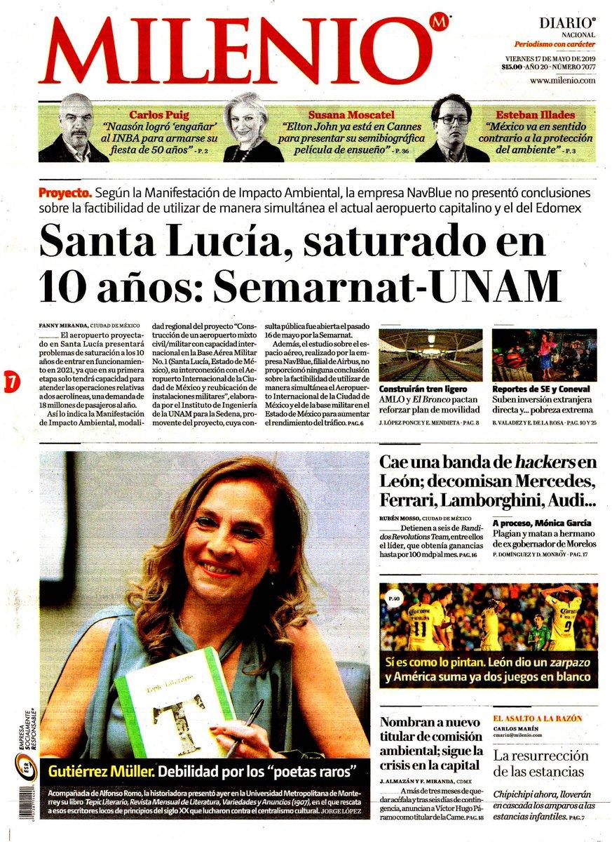 #Las8Columnas #Milenio: Un experto antinarco, el comandante en jefe de la Guardia Nacional