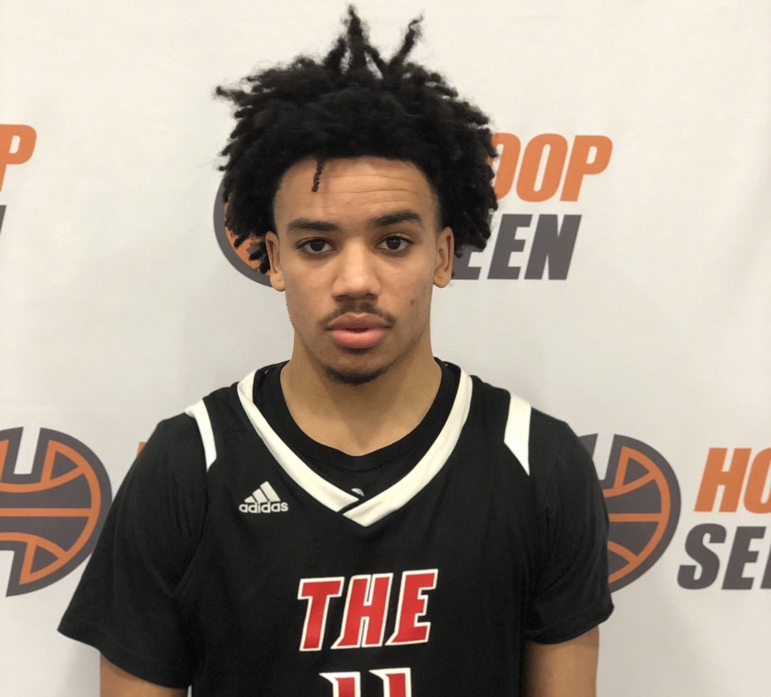 The Ville PG Jacob Jones is a skilled lead guard. Shifty, smooth, really quick with the ball in his hands and attacks the paint. No offers yet but getting some low-mid major interest.  @indiana11jones #GIbbons