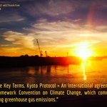 Image for the Tweet beginning: What is the Kyoto Protocol?