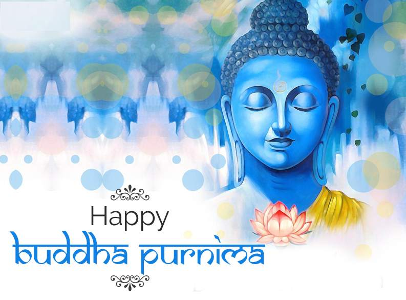 Happy Buddha Purnima Greetings  IMAGES, GIF, ANIMATED GIF, WALLPAPER, STICKER FOR WHATSAPP & FACEBOOK