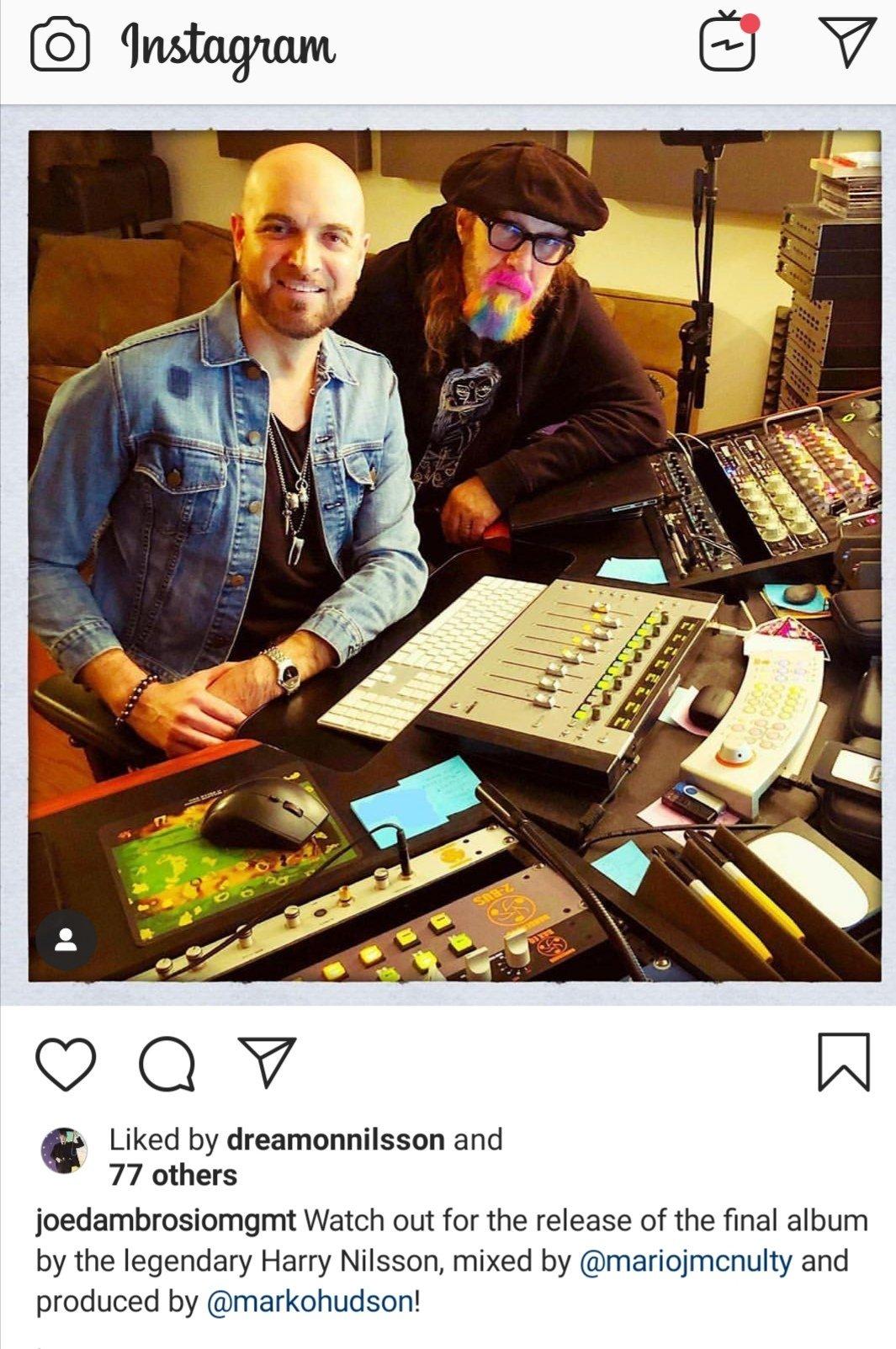 Harry Nilsson's Unreleased Final Album Announced | Steve