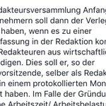 Image for the Tweet beginning: Die Westfälischen Nachrichten streiten gerade