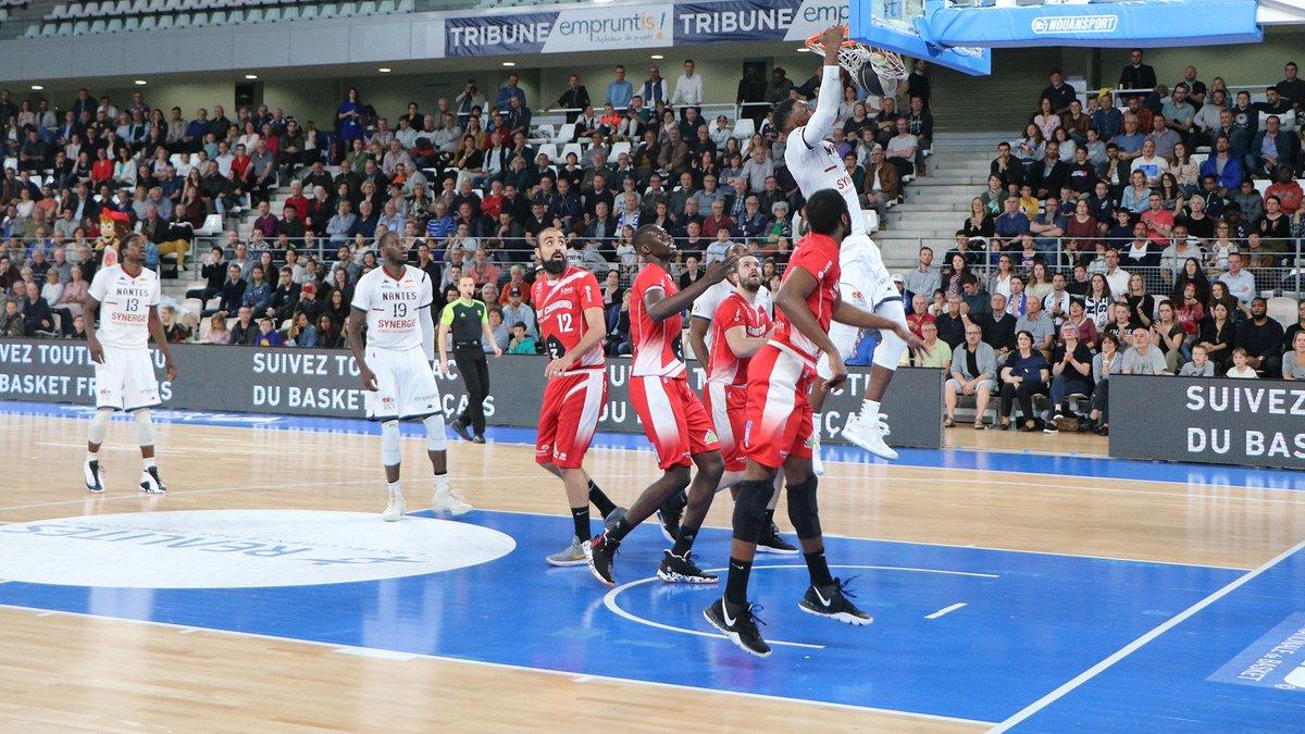 📰 J33 – Le Nantes Basket Hermine peut encore y croire !  👉 Le résumé du match : https://bit.ly/2VIipae 📈 Les stats : https://bit.ly/2w4Ts9G  #LNB #PROB #NBHSQUAD