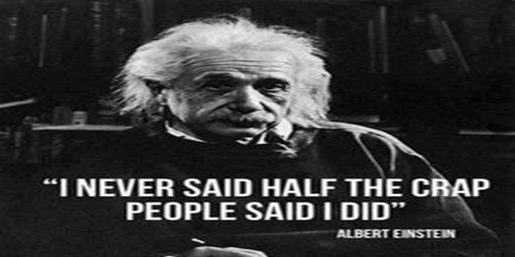 My favorite #einstein #quote