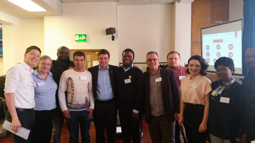 RAS voice so honoured to speak alongside GM Mayor @AndyBurnhamGM at the #GreaterManchester integration strategy event.  We look forward to the future!