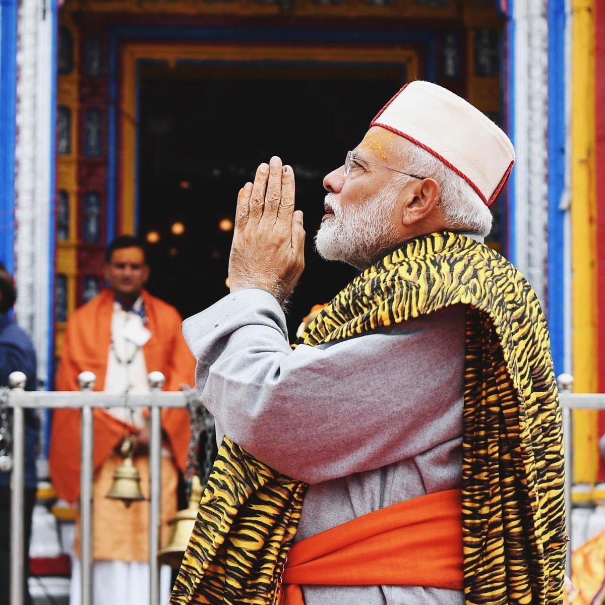 Prayed at the Kedarnath Temple. Har Har Mahadev!