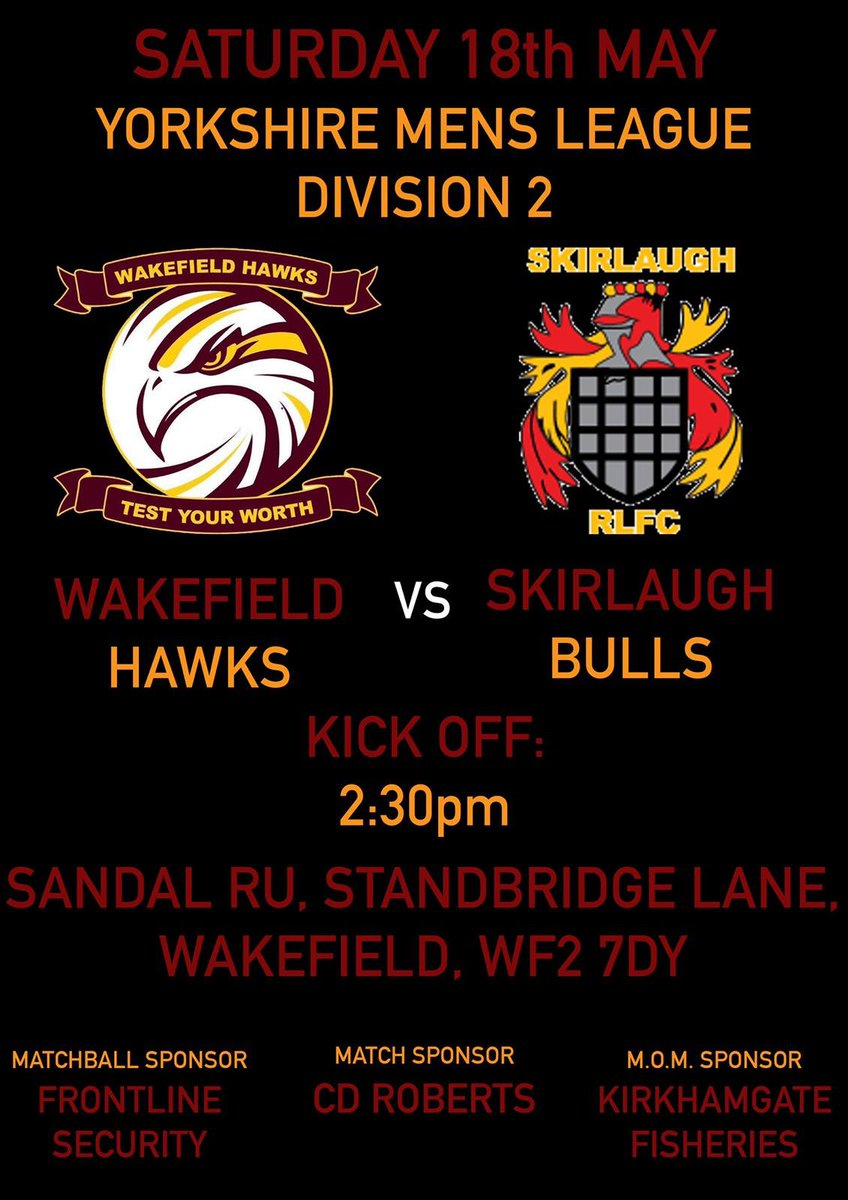 Wakefield Hawks's photo on game day