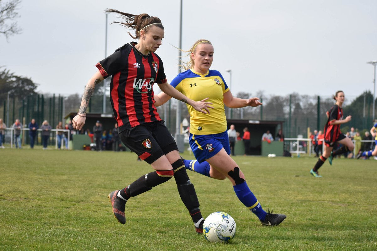 AFC Bournemouth Women in cup final action tomorrow... 💪 Vs. Moneyfields 🏆 Chairmans Cup final 🏟️ AFC Totton, Testwood Stadium ⏰ 11am KO 🙌 Free entry, come along! #afcb 🍒