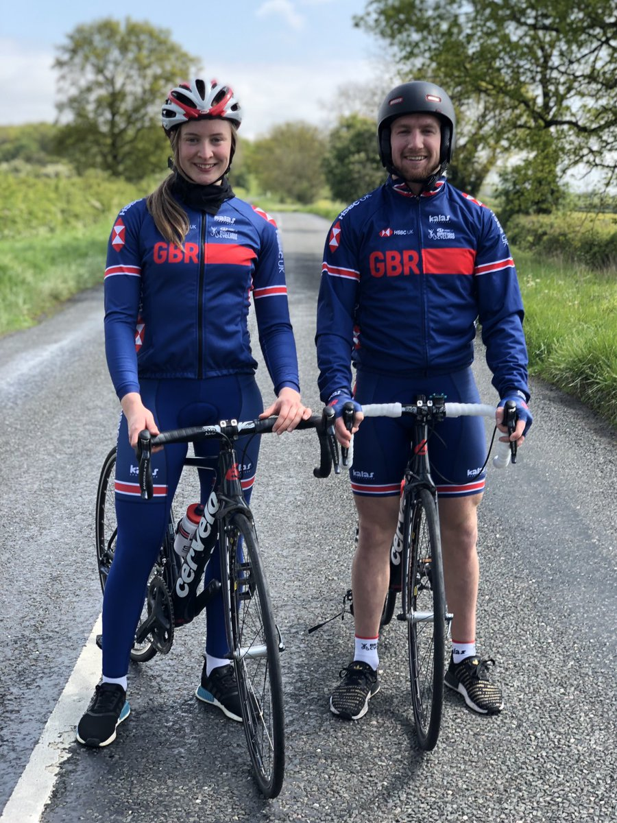 Me and decky boi 🚴🏼♀️💨 last weeks ride with @declanbrooksbmx @jamiebestwick #roadbike #oundle #gbr @BritishCycling