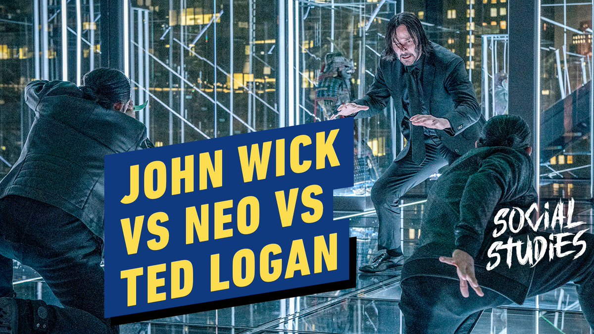 Which Keanu Reeves character would win in a fight: #JohnWick, Neo, or Ted Logan? We let YOU decide! #IGNsocial
