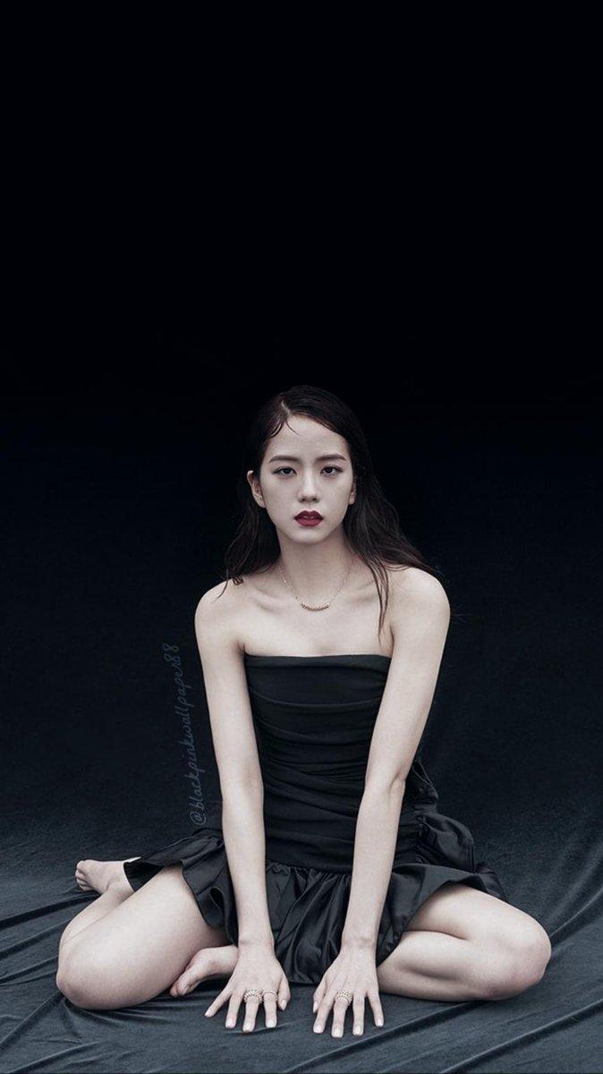 Jisoo X Hapers Bazaar Korea Wallpapers Dalgom Too Retweet