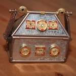 Image for the Tweet beginning: Replica reliquary recreated ahead of