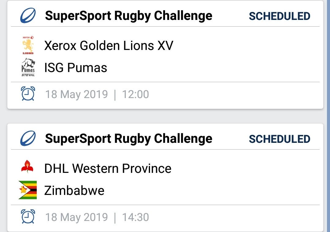 Round 4 fixtures today 🏉  #BornToRugby