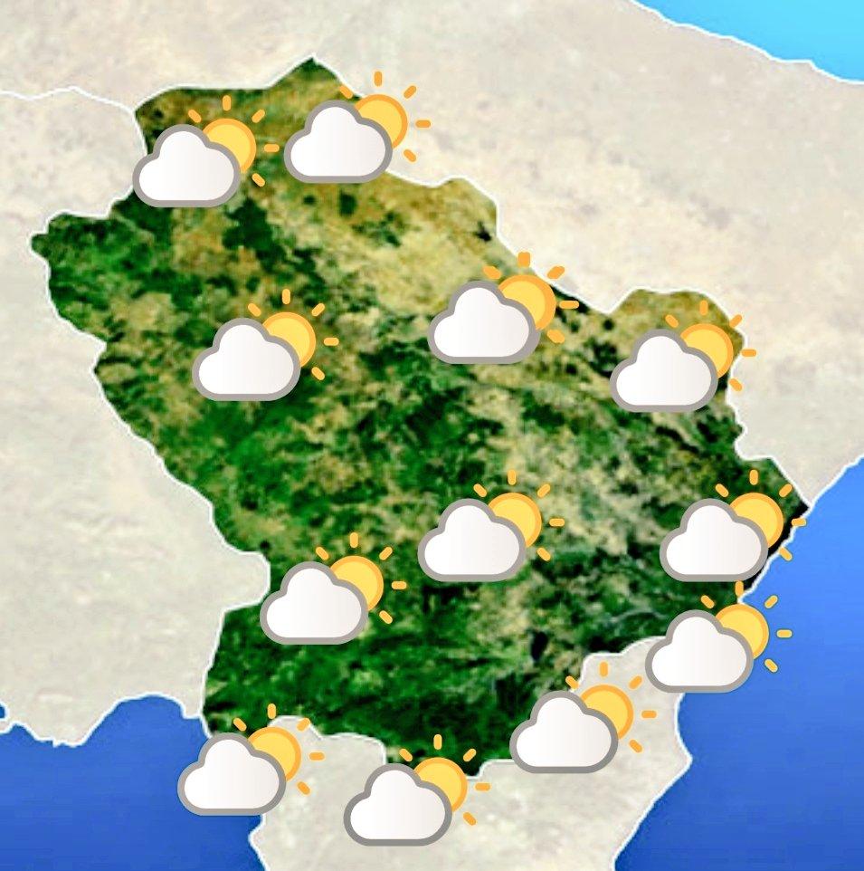 Le previsioni meteo #Basilicata di oggi 18 maggio ...
