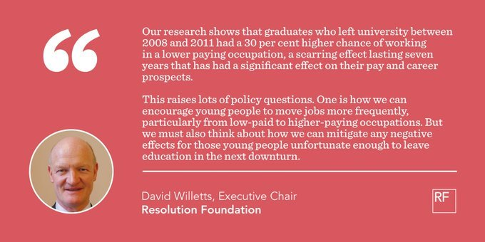 test Twitter Media - Did you graduate in 2008, '09, '10 or '11? Here's RF's David Willetts on how the aftermath of the financial crisis impacted the earnings of those who left education at that time - and the lessons we must learn for future https://t.co/cqvnSATbMA https://t.co/fRS3DbguU3