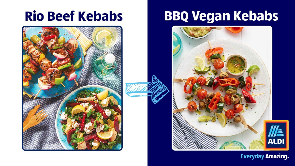 Why not make a #VegetarianWeek swap at the BBQ this summer? Tell us which veg combos you'd include. http://bit.ly/30oCDVn