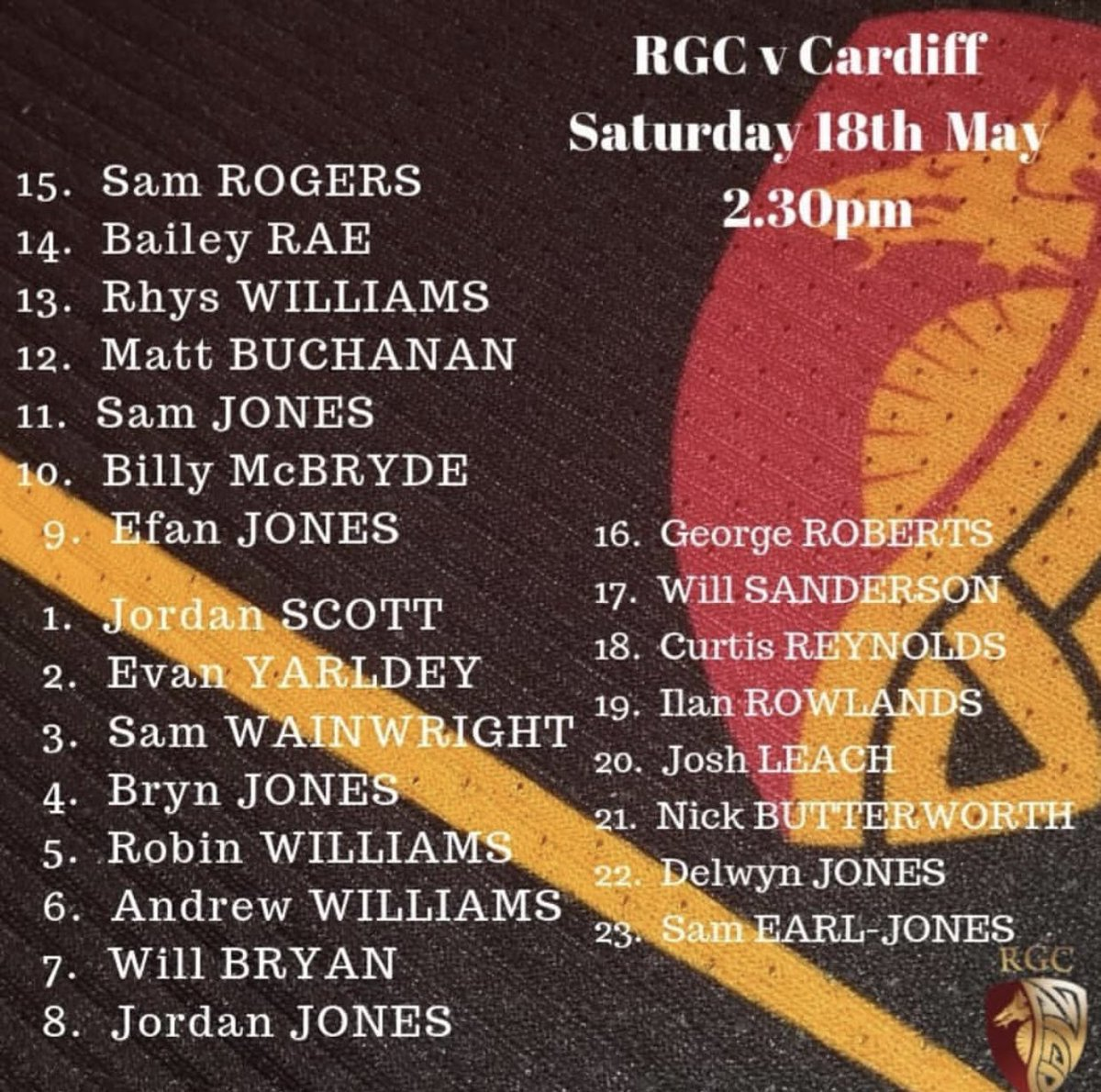 RGC1404's photo on game day